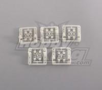 Servo Mount (5pcs / bag) per Mini Servo 9g, fino a 24mm