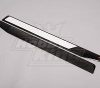 690 millimetri in fibra di carbonio TIG Z-tessuto principale Blades