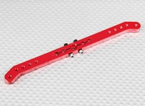 Heavy Duty 5.1in lega Pull-Pull Servo Arm - JR (Red)