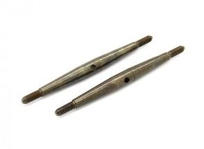 Trackstar 1/10 molla in acciaio Turnbuckle M3x60 (2 pezzi)