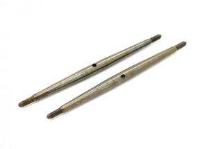 Trackstar 1/10 molla in acciaio Turnbuckle M3x85 (2 pezzi)