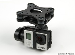 GH3-3D 3-AXIS Camera Gimbal (nero)