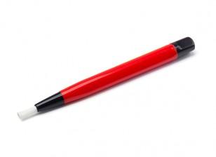 Leebar Glass Fiber Scratch Brush (RED)