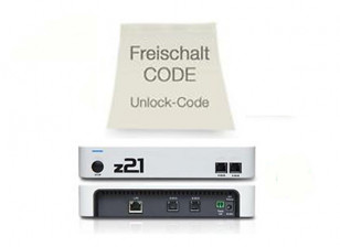 Roco Z21 DCC Digital Control System Unlock Code