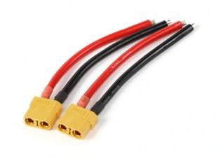 XT90 connettore femmina 10AWG 10cm (2pcs / bag)