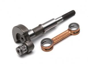 RCGF 10cc sostituzione del motore a gas di albero motore e bielle Set (M1002)