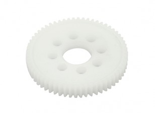 "Robinson Racing ""PRO"" lavorata Spur Gear 48 Pitch 66T"