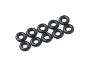 2 in 1 kit di O-ring (nero) -10pcs / bag
