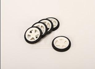 Rotella leggera schiuma (diametro: 55, Larghezza: 10 mm) (5pcs / bag)