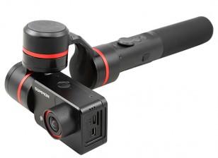 Feiyu-Tech Summon 4k macchina fotografica di azione w / integrato del giunto cardanico e WiFi palmare