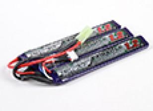 Turnigy nano-tech 1200mah 3S 15 ~ 25C Lipo AIRSOFT Confezione