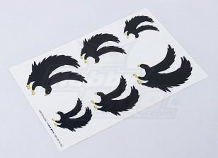 Foglio Black Eagle Sticker