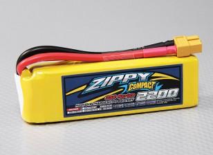 ZIPPY Compact 2200mAh 3S 35C Lipo Confezione