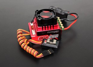 Turnigy Trackstar 80A Turbo Sensored Brushless 1/12 1 / 10th ESC (ROAR approvato)