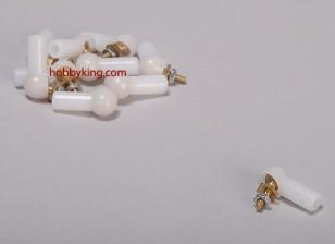 Palla e collegamento a rulli 4.8x3x17mm (10pcs / bag)