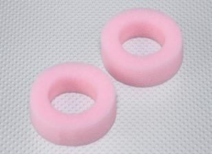 Schiuma pneumatici inserti per 26 millimetri di RC Auto Wheels - mescola morbida (2 pezzi)