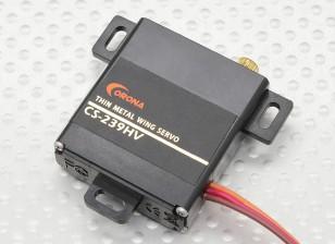 Corona CS-239HV analogico Slim Ala servo (Metal Gear) 4,6 kg / .13sec / 22g