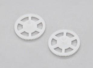 Turnigy FBL100 Main Gear (2pcs / bag)