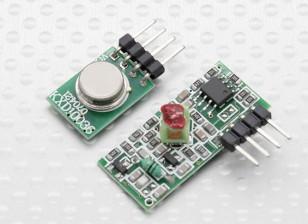 Modulo trasmettitore senza fili 315RF e modulo ricevitore senza fili