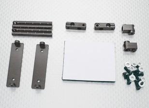 1/10 di alluminio di CNC auto Shell corpo di montaggio Set (titanio)