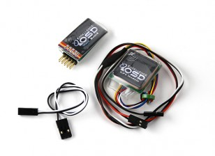 Mini sistema OSD w / Modulo GPS