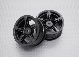 Scala 1:10 di alta qualità Touring / Drift Wheels RC 12 millimetri auto Hex (2pc) CR-F12M