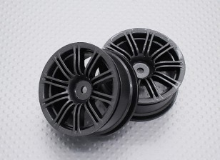 Scala 1:10 di alta qualità Touring / Drift Wheels RC 12 millimetri auto Hex (2pc) CR-M3M