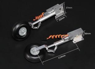 Turnigy Full Metal Servoless ritrae con i piedini Oleo (Hawker Hurricance tipo)