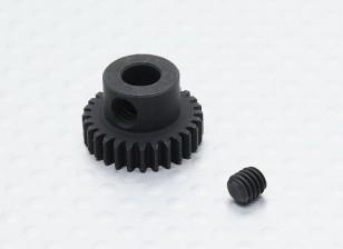 28T / 5mm 48 Pitch acciaio temperato pignone
