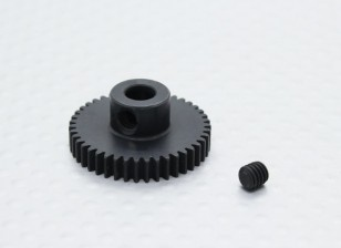 43T / 5mm 48 Pitch acciaio temperato pignone