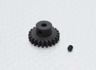 22T / 3,17 millimetri 32 Pitch acciaio temperato pignone