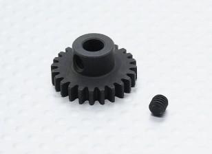 24T / 5mm 32 Pitch acciaio temperato pignone
