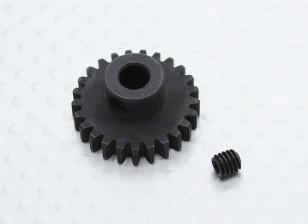 25T / 5mm 32 Pitch acciaio temperato pignone