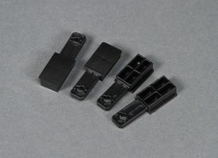 Dipartimento Funzione Go Discover FPV 1600 millimetri - Sostituzione di plastica del supporto dell'ala (4 pezzi)