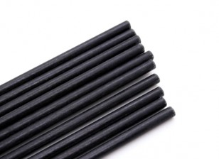 Fibra di vetro Rod 2.5x750mm (10pcs)