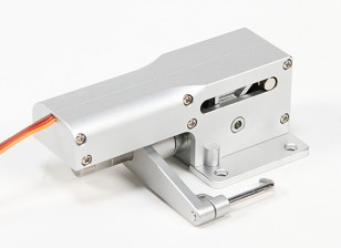 All Metal Servoless 90 gradi di sterzo Nose Ritrarre per i modelli di grandi dimensioni (10-12kg)