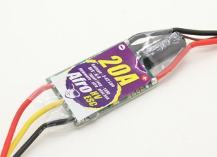 Afro HV 20A MultiRotor ESC di alta tensione 3 ~ 8s