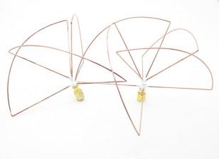 1.2 GHz circolare polarizzata antenna SMA (Set) (Short)