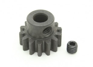 14T / 5mm M1 acciaio temperato pignone (1pc)