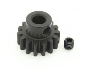 15T / 5mm M1 acciaio temperato pignone (1pc)