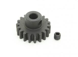 19T / 5mm M1 acciaio temperato pignone (1pc)