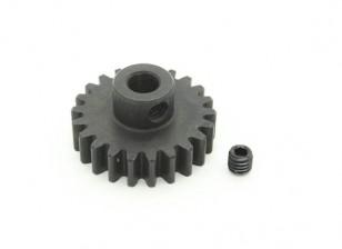 22T / 5mm M1 acciaio temperato pignone (1pc)