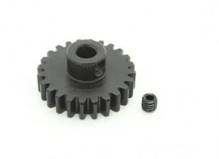 24T / 5mm M1 acciaio temperato pignone (1pc)