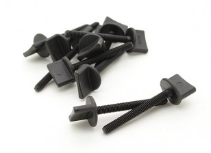 Nylon Thumbscrew Ala Bolt M4x35 (10pcs)