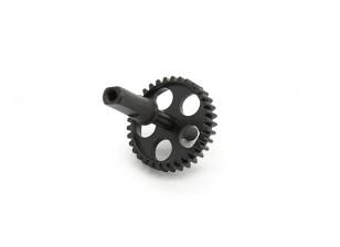 RJX X-TRON 500 coda del metallo pignone # X500-70506