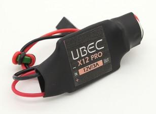 12V 3A UBEC - 2 ~ 5S LiPo (6-23v)