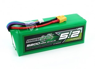 Multistar High Capacity 5200mAh 6S 10C Multi-Rotor Lipo Pack