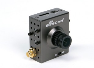 Boscam TR1 FPV All-In-One Camera e 5,8 GHz Trasmettitore con videoregistratore