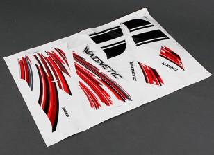Dipartimento Funzione Pubblica ™ Wingnetic 805 millimetri - Sostituzione Sticker Set