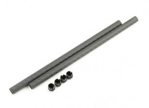 Tarocchi FY650 Ironman 650 200x10mm 3K Carbon Tube (2 pezzi)